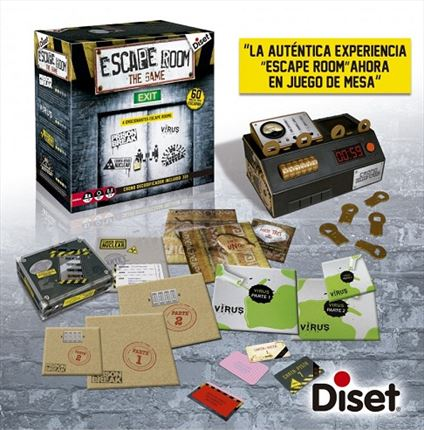 Diset Escape Room The Game 62304 | CC. Sánchez
