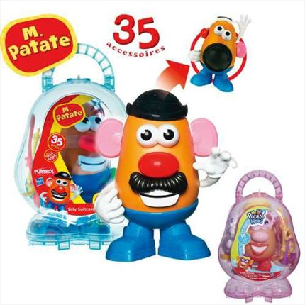 Hasbro Playskool Mr. Potato Maleta Divertida | CC. Sánchez